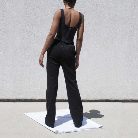 Maison Margiela Tailored Sweatpants - Black