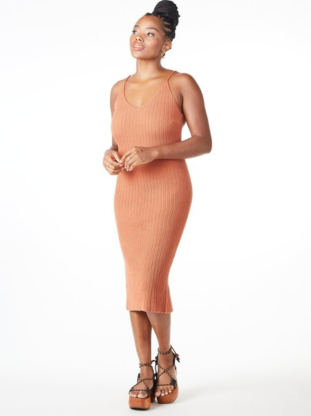 Aymara Dalia Dress - SALMON