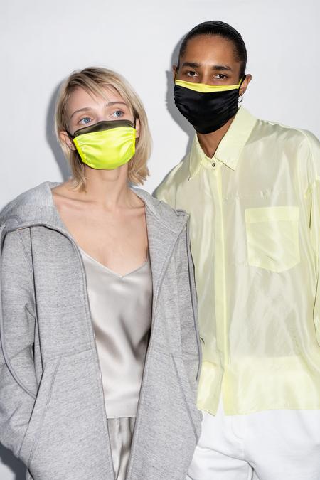 KES Sustainable Washable Face Mask Pack - Black Silk