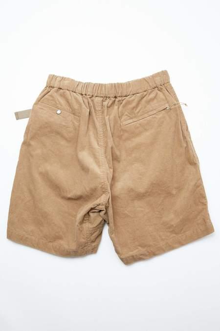 AiE 14W Corduroy EZ Short - Khaki