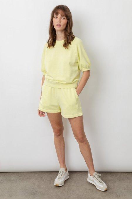 Rails Lia Short Sleeve Sweatshirt - Limon