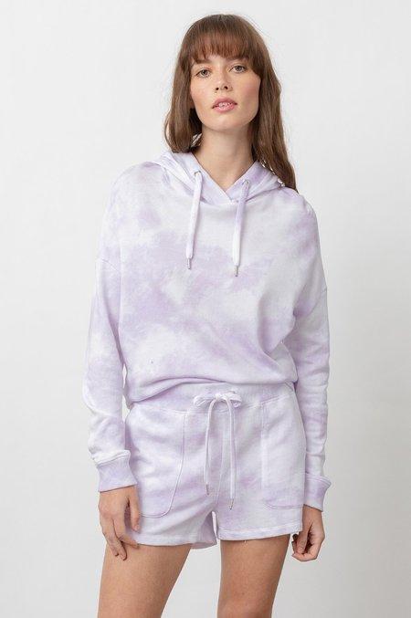 Rails Robin Shorts - Lavender Tie Dye