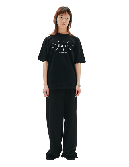 Undercover New Noise Printed T-shirt - black