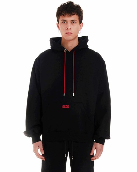 GCDS Sweatshirt with Logo - Black