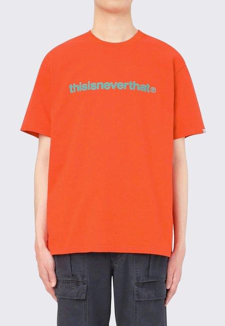 ThisIsNeverThat T-Logo T-Shirt - orange