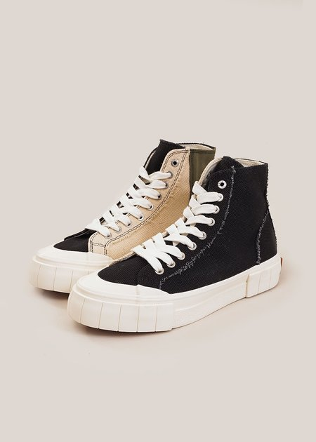 UNISEX Good News Palm Seasonal Sneakers - Black/Oatmeal/Khaki