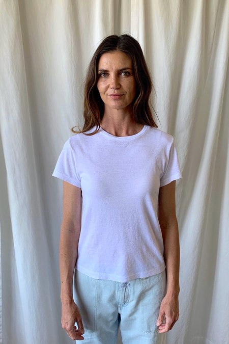 RE/DONE Classic Tee - White