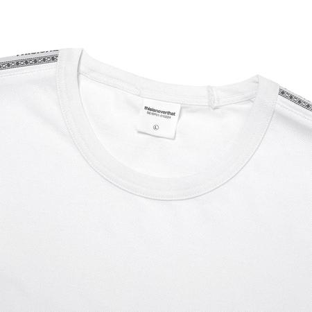 ThisIsNeverThat Taped L/SL Top - White