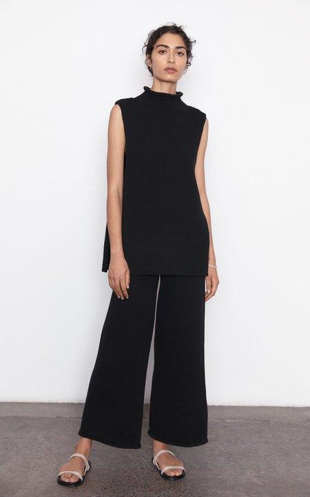 St. Agni Rem Knit Lounge Pant - Black