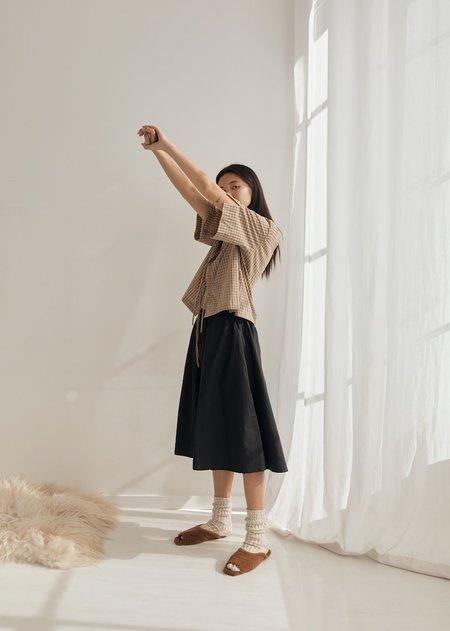 Deiji Studios The Skirt Dress - Black