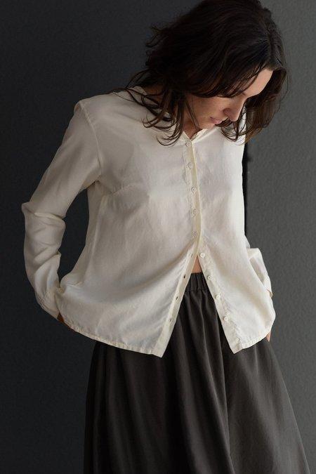 Private 0204 Silk Blouse - Natural