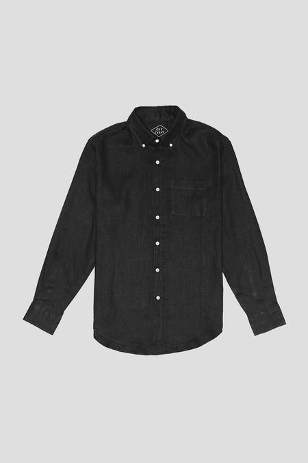 Alex Crane Linen Playa Shirt - Night