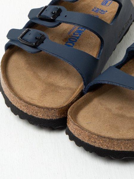Birkenstock FLORIDA SOFT FOOTBED shoes - BIRKO-FLOR NAVY
