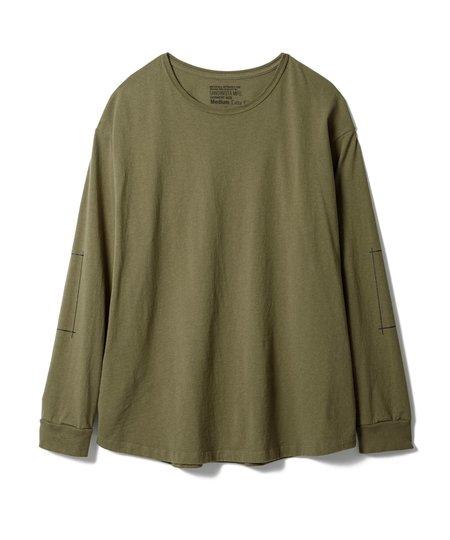 Sandinista MFG Tape Print T-Shirt - Olive Drab
