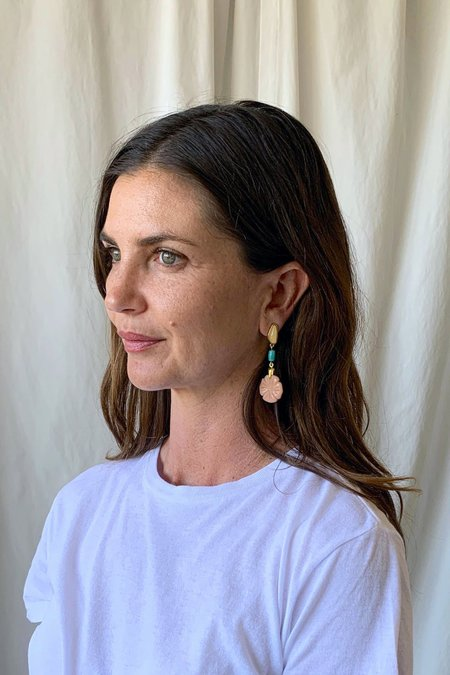 Lizzie Fortunato Bloomscape Earrings - Gold