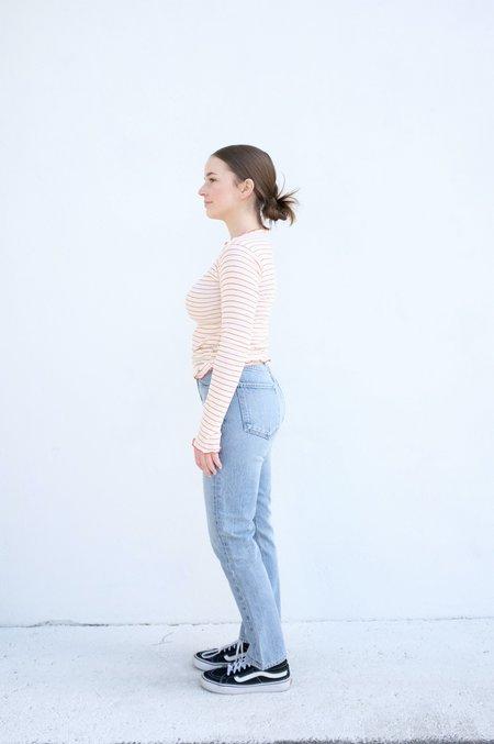 Baserange Pama Longsleeve - Red/White Stripe