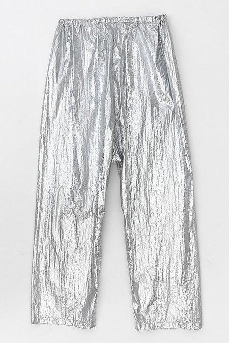 Uzi NYC Space Pant - Silver