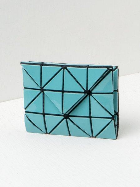 BAO BAO ISSEY MIYAKE CARD WALLET - TURQUOISE BLUE