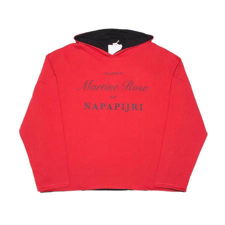 NAPA BY MARTINE ROSE B-Parma hoodie - red