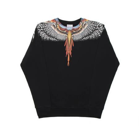 MARCELO BURLON Grizzly Wings sweatshirt - black