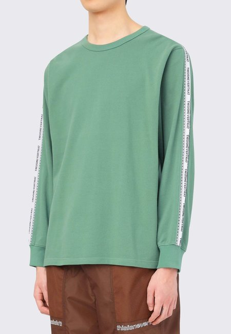 ThisIsNeverThat Taped Long Sleeve - green