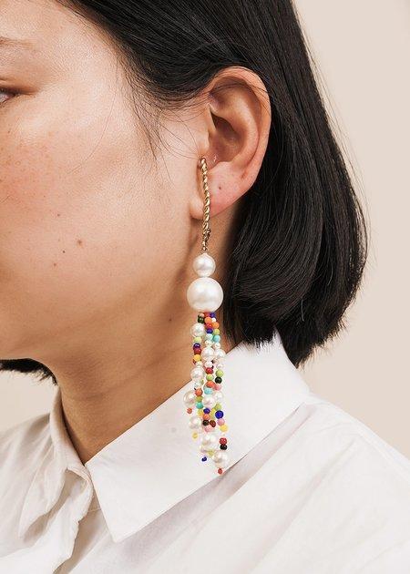Luiny Dangling Earrings - Multi