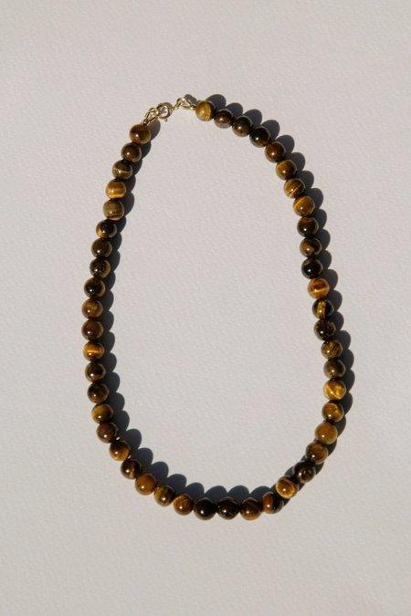 Vermeer Margaret necklace - Tiger eye