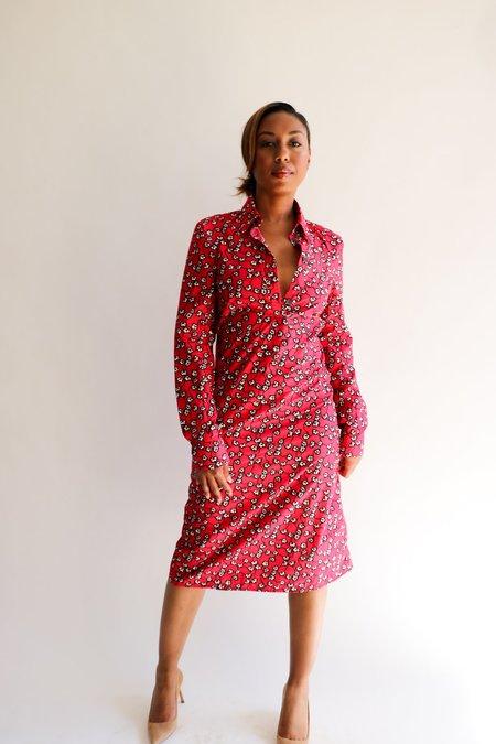 [Pre-loved] Marni Printed Shirt Dress