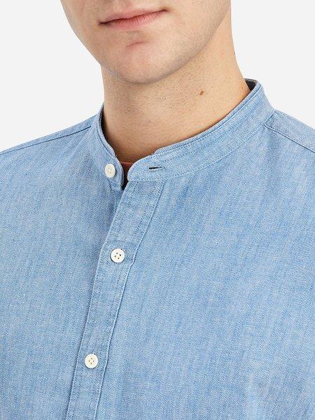 O.N.S Aleks Twill Shirt - Light Indigo