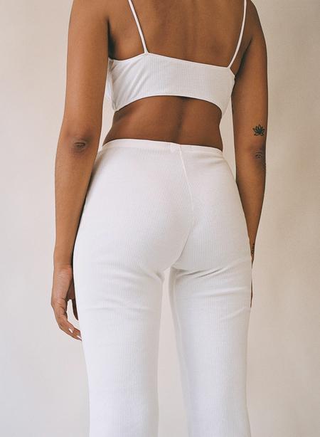 Aniela Parys Astoria Flare Trousers - white