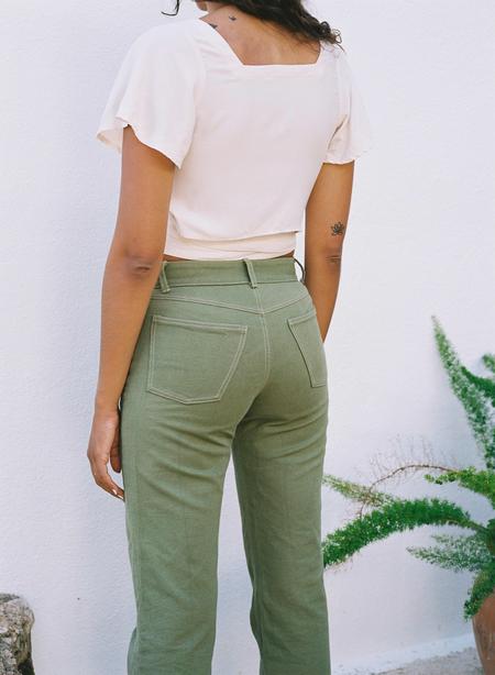 UNISEX Samba Canvas trousers - green