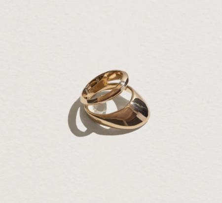 Pamela Love Agnes Ring - brass