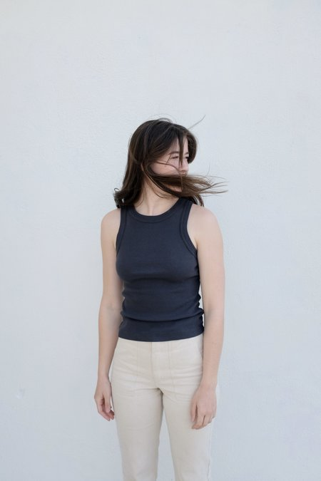 Citizens of Humanity Isabel Rib Tank - Charcoal