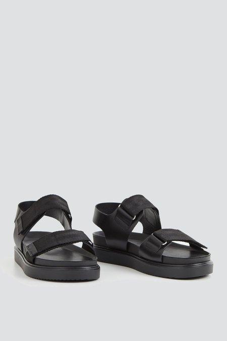 Vagabond Seth Nylon Strap Sandal - Black