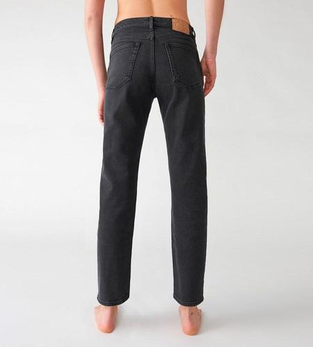 Jeanerica CLASSIC 5-POCKET JEANS - USED BLACK