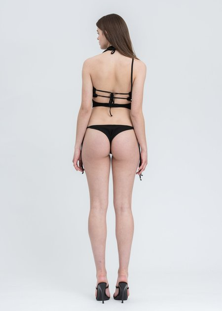 Hyein Seo Bandeau Bodysuit - Black