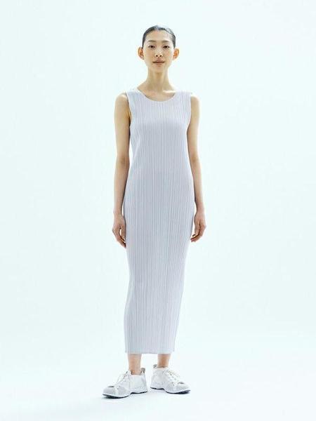 Pleats Please by Issey Miyake Basics Long Dress - Black