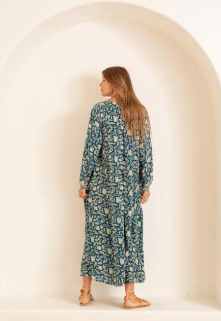 natalie martin fiore maxi dress - sihouette shadows