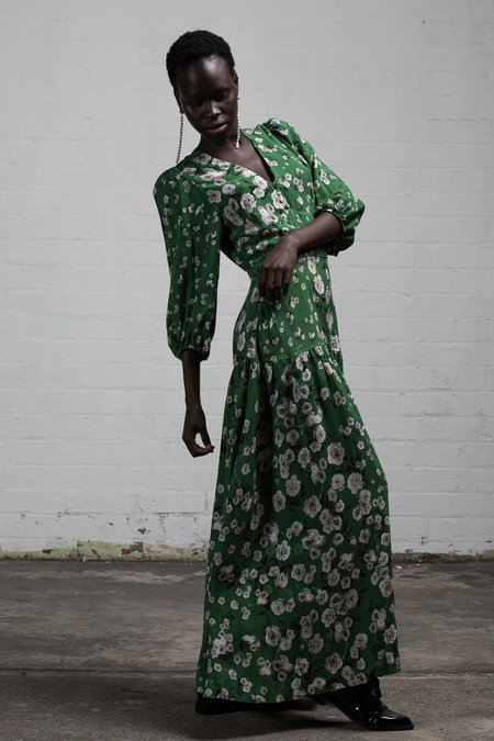 SALASAI UTOPIA DRESS - GREENERY