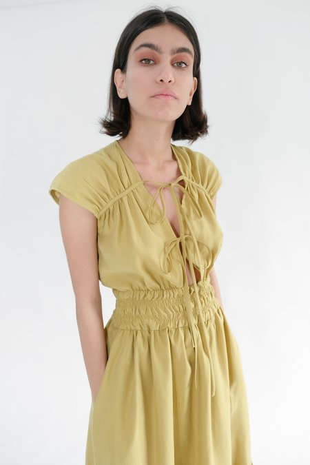 OhSevenDays WINONA DRESS - OLIVE