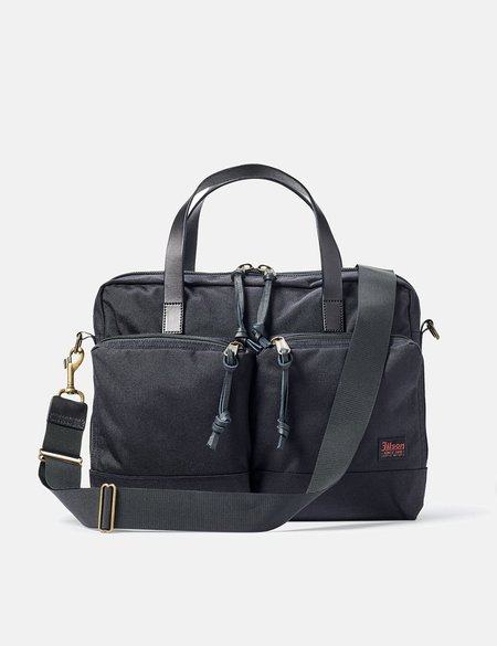 Filson Dryden Briefcase - Dark Navy Blue