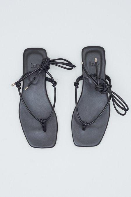 LOQ Teo Sandals - Black