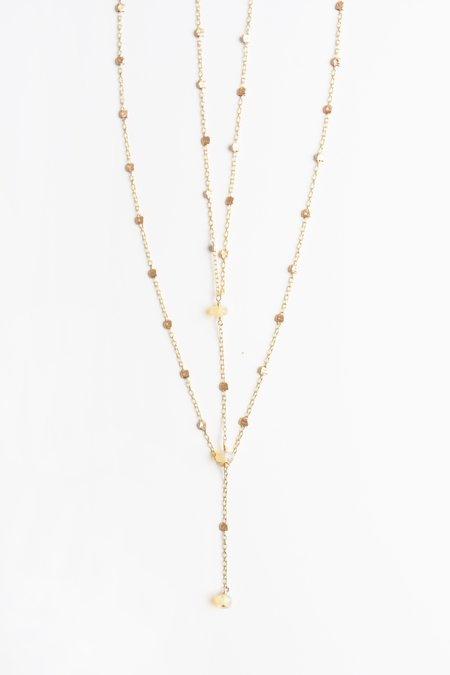 Iwona Ludyga Double Layer Storm Necklace