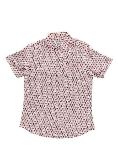 Dushyant Asthana The Folk Motif shirt - Salmon