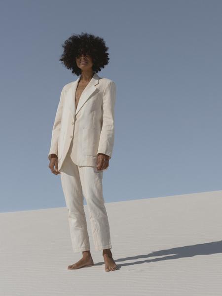 LAUDE the Label Icon Trouser - Tulum Stripe