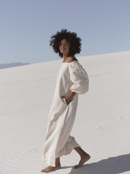 LAUDE the Label Cleo Dress - Tulum Stripe