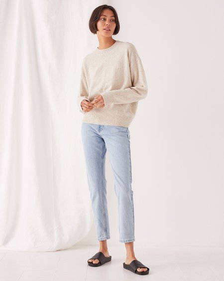 Assembly Label Iren Knit sweater - Oat Marle