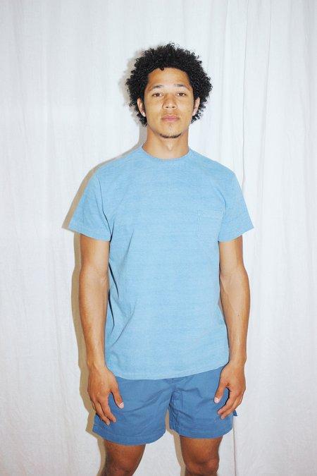 Corridor Washed Summer T-Shirt - Indigo
