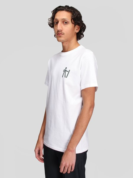 Norse Projects Niels Norse x Matt Luckhurt Pictogram shirt - white