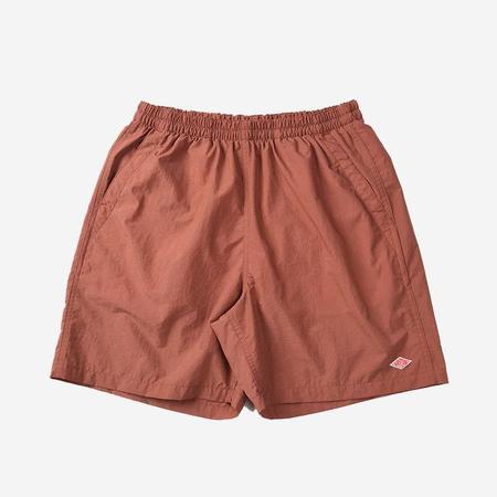 Danton Nylon Taffeta Shorts - Old Rose